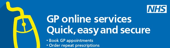 GP online services.  Quick, easy and secure.  Book GP appointments.  Order repeat prescriptions